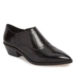 Rebecca Minkoff | Koso Black Leather Booties 9.5